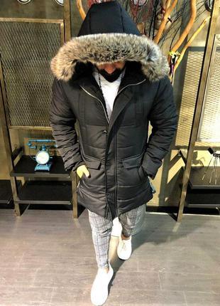 Парка мужская зимняя ❄️ / куртка чоловіча зимова ❄️