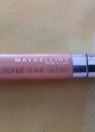 Пигментированный блеск персиковый мейбелин оригинал maybelline
