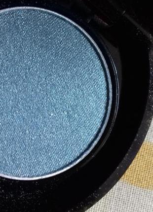 Английские сатиновые тени дуохром с шимером голубые небесные с...