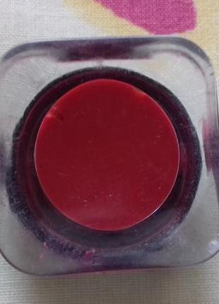 Красная бордовая жидкая помада для губ marks spencer