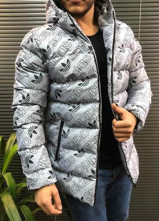 Куртка мужская adidas зимняя / куртка чоловіча adidas зимова