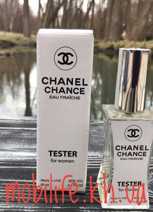 "Женская туалетная вода Тестер Chanel Chance Eau Fraiche ""Fresh"" 6"