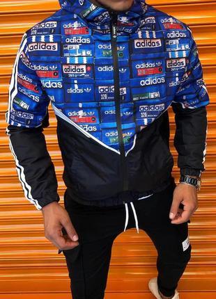 Ветровка мужская adidas / вітровка чоловіча adidas