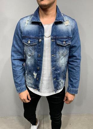 Джинсовый пиджак мужской / джинсовий піджак чоловічий