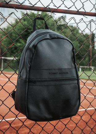 Рюкзак городской tommy hilfiger pu кожа | рюкзак міський
