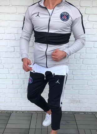 Спортивный костюм мужской jordan paris saint germain | спортив...