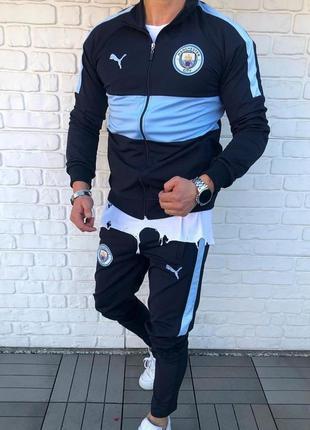 Спортивный костюм мужской puma manchester city | спортивний ко...