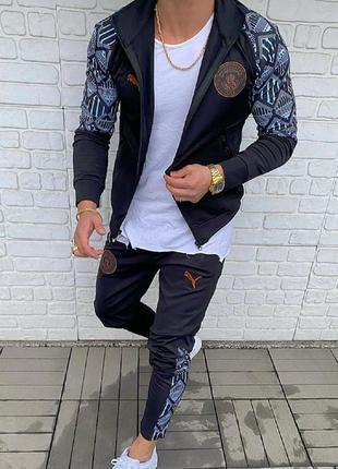 Спортивный костюм мужской puma fc manchester united | спортивн...