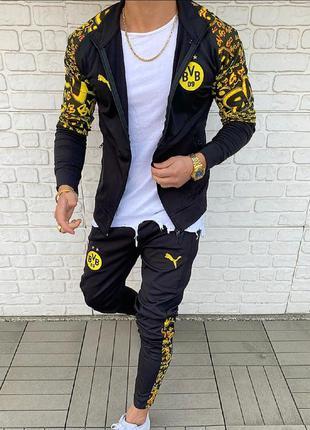 Спортивный костюм мужской puma bvb   спортивний костюм чоловічий