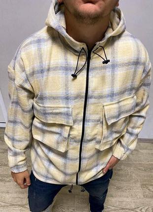 Рубашка мужская байковая / сорочка чоловіча байкова