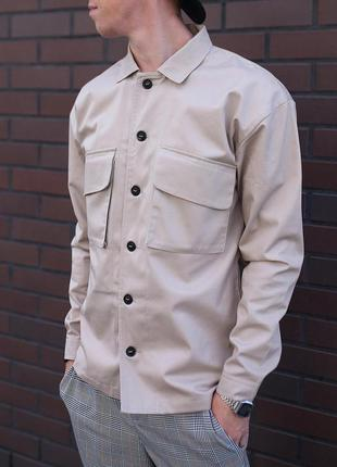 Рубашка мужская с карманами / сорочка чоловіча з кишенями