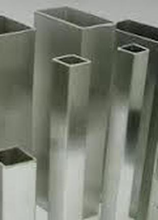 Труба нержавеющая профильная квадратная 15х15х1 15х15х1,5