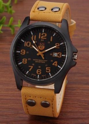 Наручные часы soki, мужские, стильные