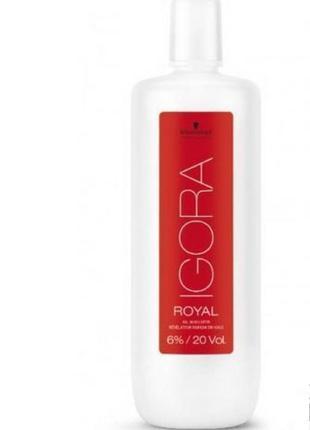 Лосьон-проявитель schwarzkopf professional igora royal oil dev...