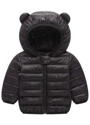 Детская куртка с ушками 80 см