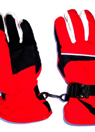 Перчатки непромокаемые термо перчатки на флисе 8-10 лет