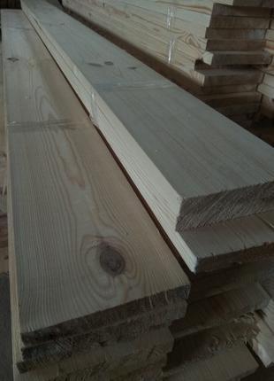 Фасадная доска обрезная строганная шлифованная 20 мм. Сосна