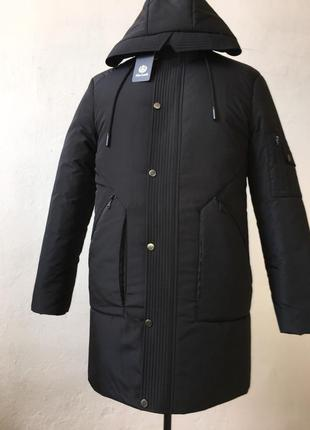 Зимняя куртка,удлиненная,парка,пуховик