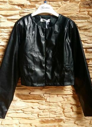 Легкая курточка/косуха/жакет gaialuna (италия) на 9-10 лет (ра...