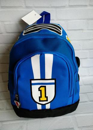 Детский бирюзовый рюкзак формула