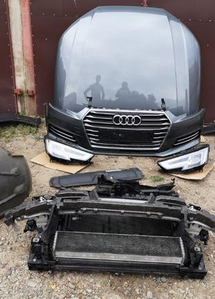 Запчасти Audi A4 B9 бампер фара капот крыло Панель Радиатор