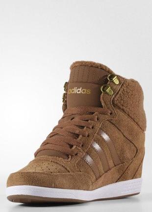 Женские кроссовки adidas neo super wedge (артикул: aw4276