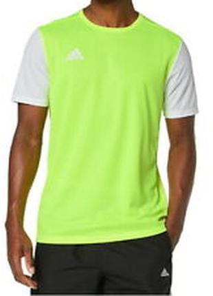 Крутая яркая мужская спортивная футболка adidas, оригинал - м, хл