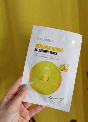 Освежающая маска для лица с витаминным комплексом Medi-Peel