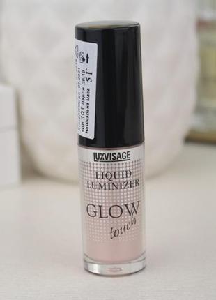 Жидкий хайлайтер-люминайзер для лица glow touch  от luxvisage