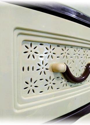 Пластиковый комод, органайзер, шкаф для вещей на 4 ящика.