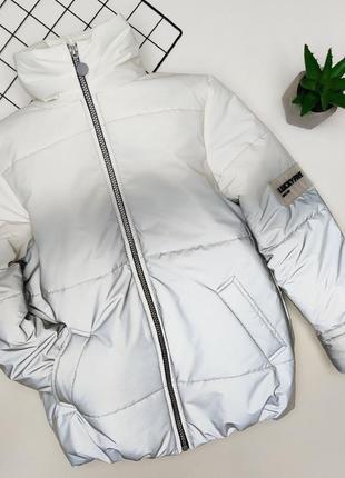 Светоотражающая куртка, демисезонная куртка,  весенняя куртка