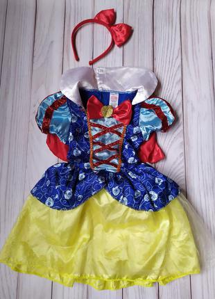 Платье белоснежка 3-5 лет