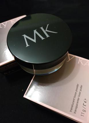 Прозрачная рассыпчатая минеральная пудра мери кей mary kay