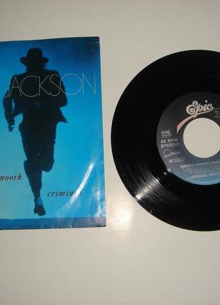 Виниловая пластинка Michael Jackson Smooth Criminal. 1987