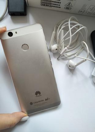 Смартфон телефон Huawei Nova silver серебро белый