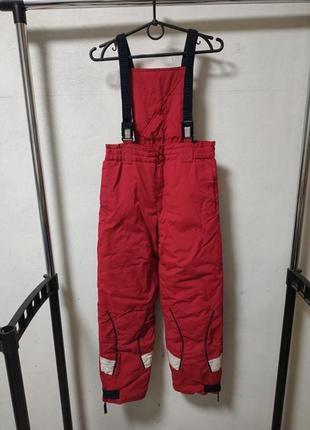 Лыжный полукомбинезон на мальчика 140 см*