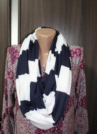 Трикотажный шарф снуд в идеальном состоянии