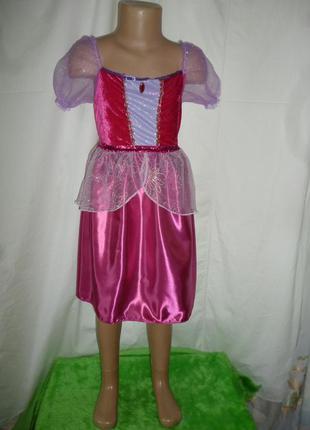 Карнавальное платье на 4-6 лет