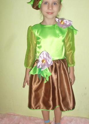Платье картошки на 4-6 лет