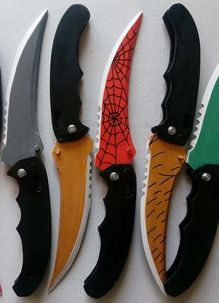 Деревянный сувенирный Складной нож из игры CS:GO(ручная работа)