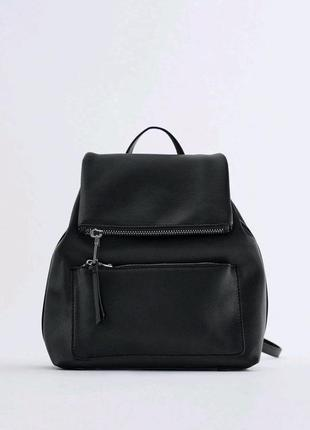 Рюкзак черный zara