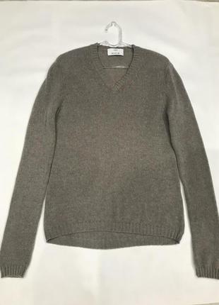 Кашемировый свитер пуловер бренда allude. 100% кашемир. размер m.