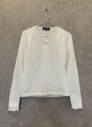 Свитер пуловер бренда simclan, ангора, котон. размер s.