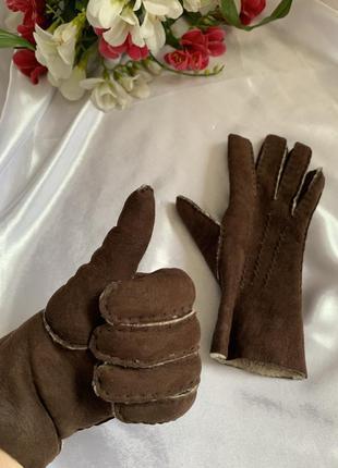 Перчатки на овчине перчатки натуральный мех овчина