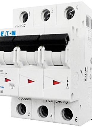 Автоматический выключатель Eaton PL6 16А,20А,25А,32А,40А,100А