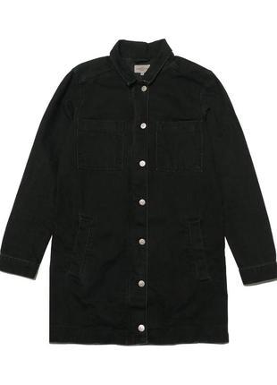 Удлиненная джинсовая куртка global funk
