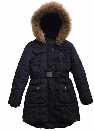 Зимняя куртка, парка пальто jasper conran 8-9лет