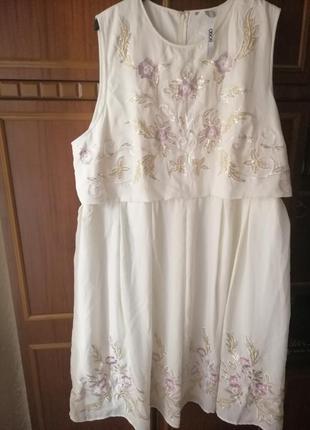 Платье нарядное большого размера