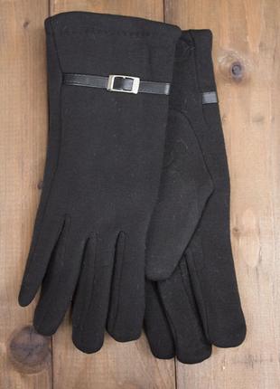 Перчатки.женские стрейчевые перчатки с мехом кролика размер 6,...