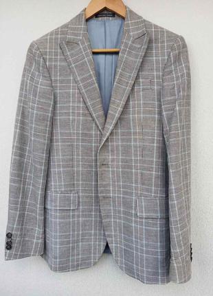 Мужской пиджак gregory arber размер 44.